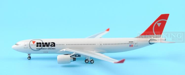 Aeroclassics Northwest Airlines N858NW 1:400 A330-200 commercial jetliners plane model hobby sale phoenix 11221 china southern airlines skyteam china b777 300er no 1 400 commercial jetliners plane model hobby