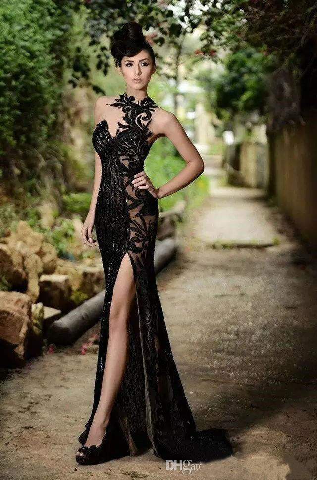 Special Price Rami Salamoun Mermaid Prom Dresses 2019 High