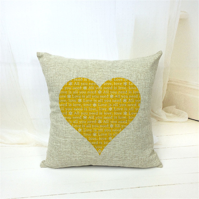 Romantic Print Pillow