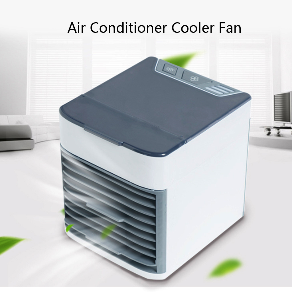 Portable Air Conditioner Mini USB Air Cooler Nano Spray Humidifiers Purifier Desktop Cooling Fan For Office Home Room Accessory