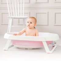 portable storage 0 36M Baby Care Adjustable Infant Shower Bathtub folding bath Safety Security Seat Support Bath tubs