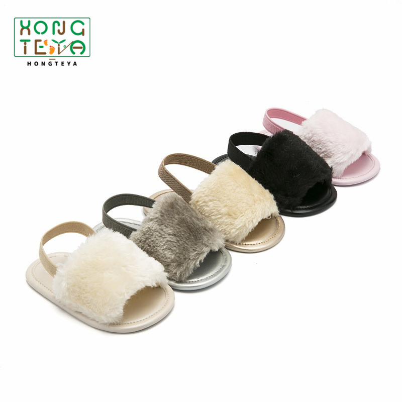 2020 Baby Sandals Baby Summer Shoes Newborn Sandals Baby Boy Girls Crib Sandals Toddler Girl Leather Sandals Beach Shoes