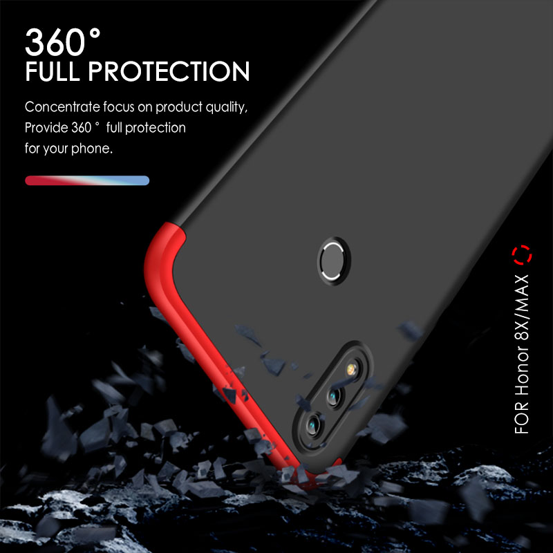 official photos 2d095 d0d4a US $3.59 28% OFF|GKK for Huawei Honor 8x Case Full Protection Anti knok  Dual Armor Ultra Thin Hard PC Back Cover For Huawei honor 8x max Case -in  ...