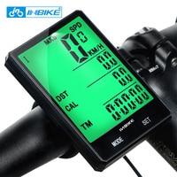 INBIKE Waterproof Wireless Cycling Computer Bicycle Bike Meter Speedometer Outdoor Fun Sports Bike Accessories 805