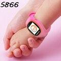 S866 ZGPAX SOS GPS Relógio Inteligente Relógio de Pulso do bebê Dos Miúdos de Fitness Crianças Rastreador Smartwatch relógio de Pulso Pedômetro IOS PK Q90 Q50 Q60