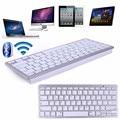 Mini teclado inalámbrico bluetooth para apple macbook ipad ios android microsoft