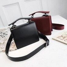 Yuhua, 2020 new women handbags, fashion Korean version shoulder bag, retro solid