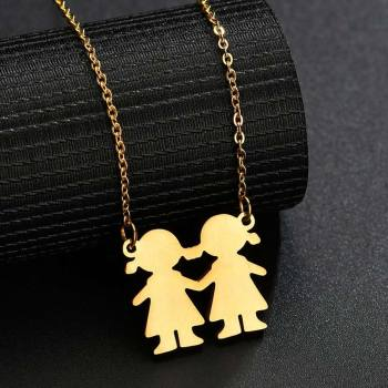 316L Stainless Steel Family Serise Necklace27