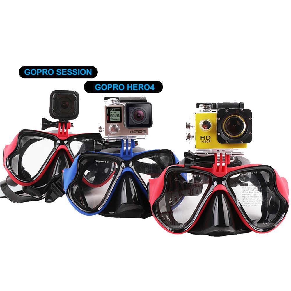Оптическая Экипировка для подводного плавания набор для близорукости Набор для погружения с аквалангом Gopro Крепление на заказ прочность Дайвинг маска сухой Топ дыхательная трубка Rx-150 до-900