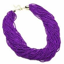 цены на BK Multi Color Fashion  Chain Resin Seed Beads Cluster Choker Statement Bib Necklace  в интернет-магазинах