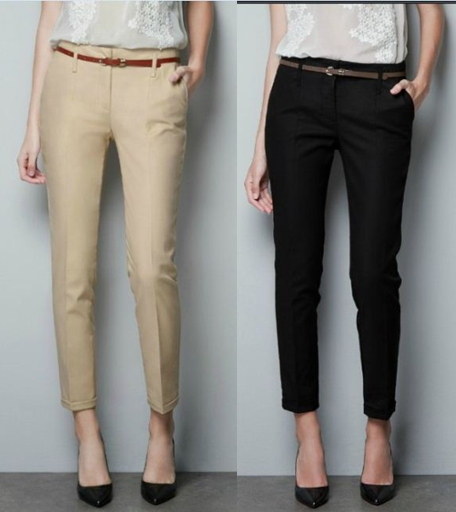 free shipping fashion women solid casual slim haram pants. Black Bedroom Furniture Sets. Home Design Ideas