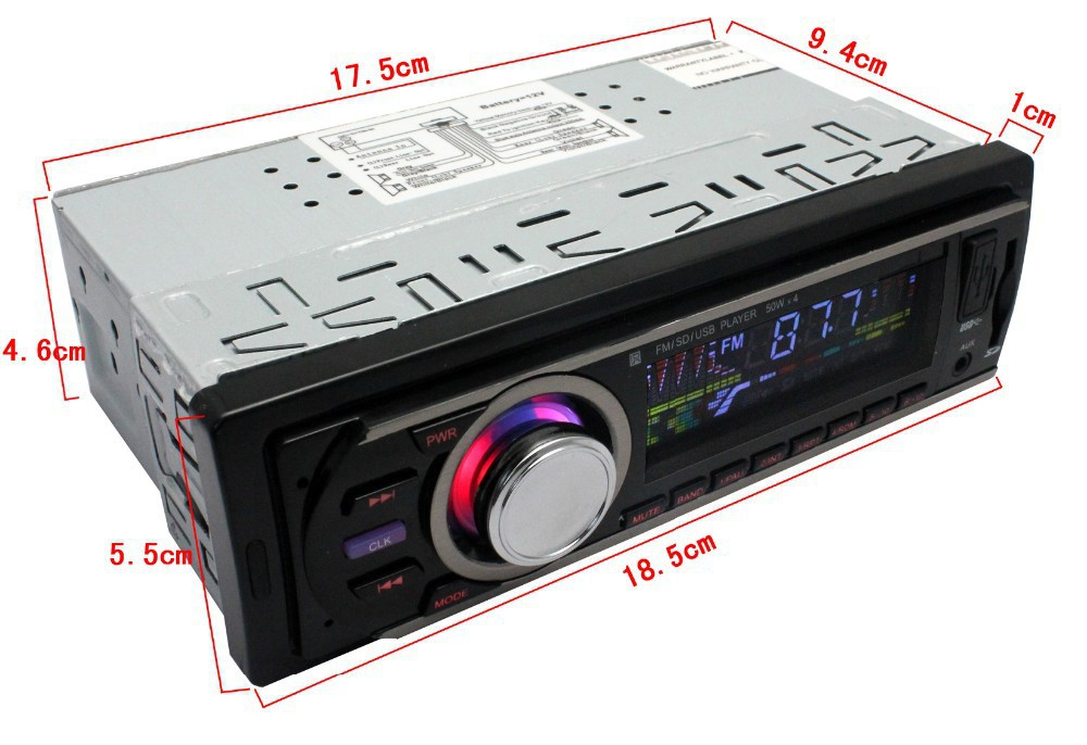 Din Car Stereo Dimensions