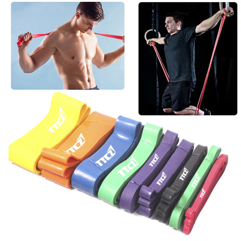 Resistance Bands Effective: Elastic Resistance Band Unisex Strength Test Gym Fitness