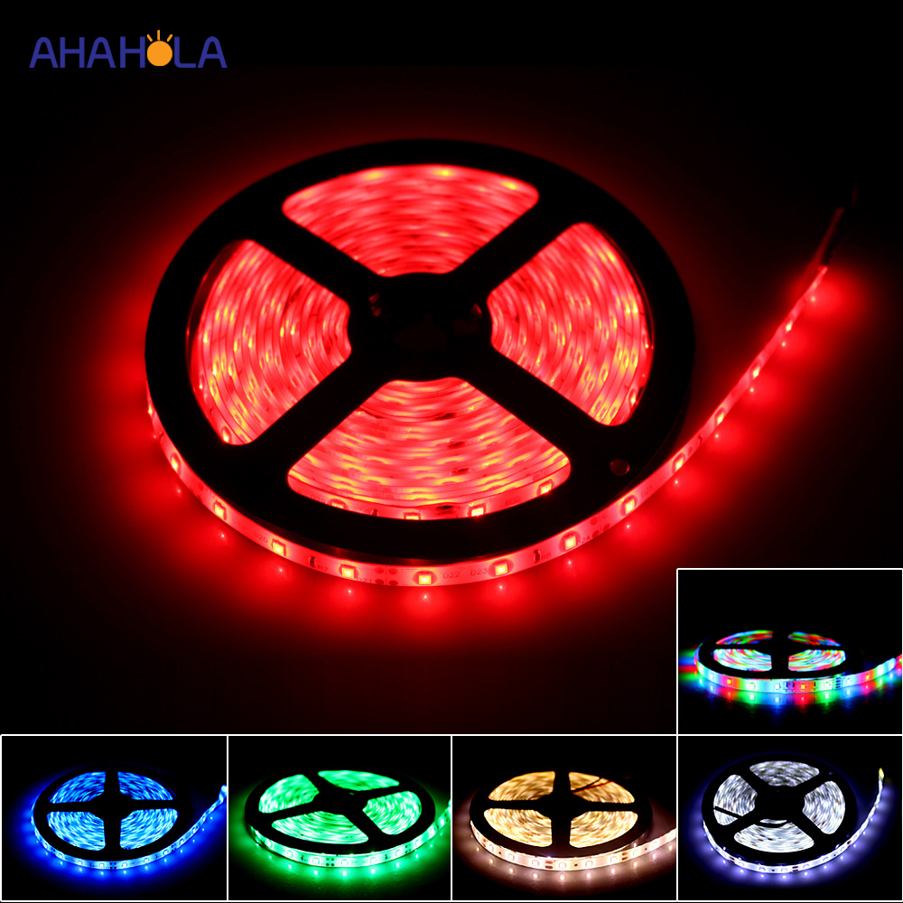 Led Strip 12v Waterproof Red Blue White Warm White Rgb Tape Fita Led 12 V Led Strip Lights For Cars