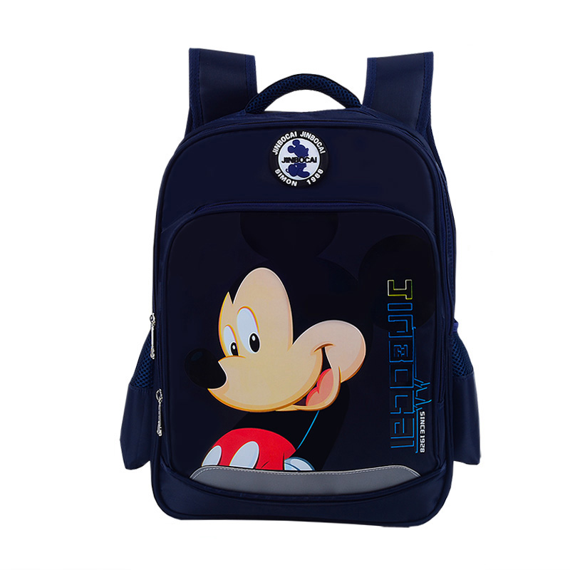 3D Mickey School Backpack for Boy Cartoon Minnie