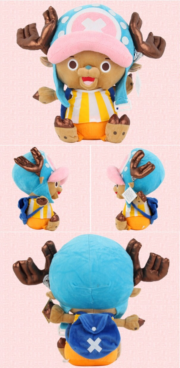 Fancytrader 20\'\' 50cm Plush Stuffed One Piece Tony Tony Chopper Toy, Free Shipping FT90319 (6)