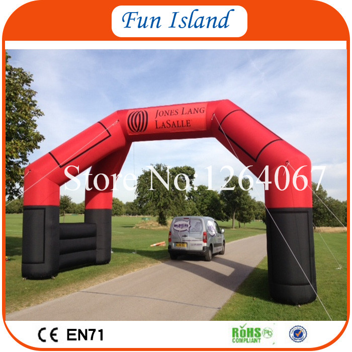Free Shipping 2017 Advertising Cheap Inflatable Arch For Sale Inflatable Entrance Arch Gate romanson tm 2615 mr bk
