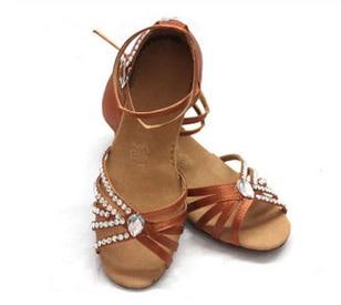 ФОТО Nagle Latin dance shoes women motorcycle boots dance shoes female sneakers Latin dance shoes female satin diamond flat heel