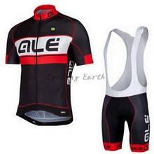 New arrived ALE 2015 short sleeve cycling jersey breathable bib shorts set bicycle wear clothes jersey