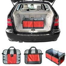 Auto Car Organizer Trunk Collapsible Toys Food Storage Truck Cargo Stowing Tidying Rear Rack Box Styling