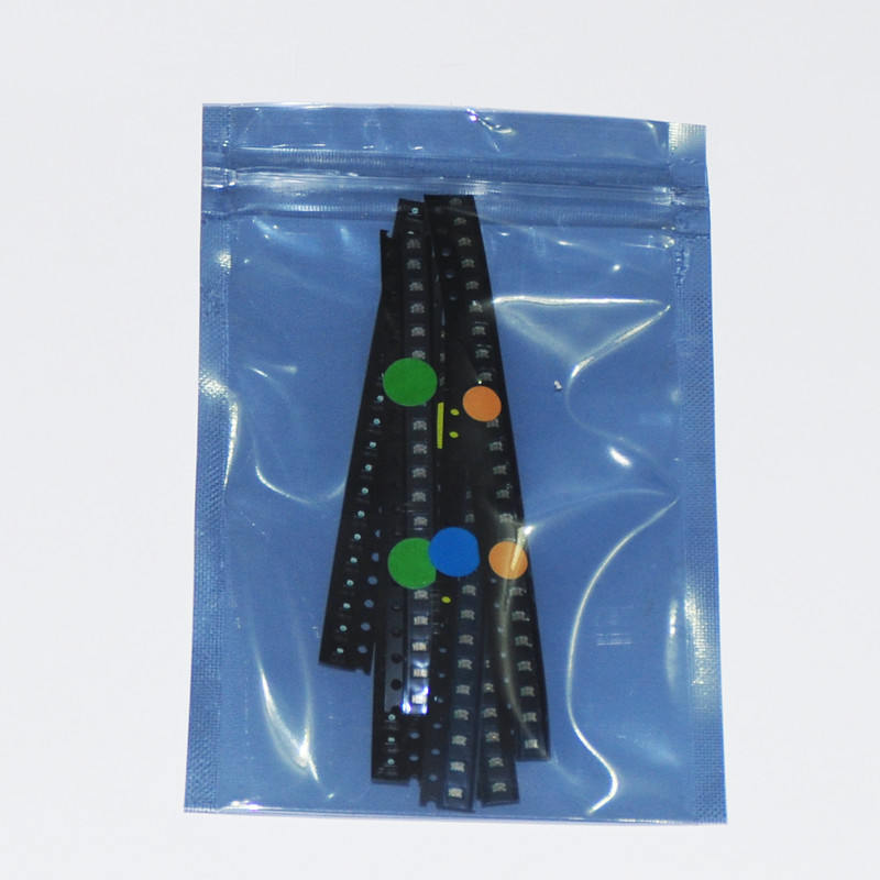 600pcs Flash 0805 LED Diode Mixed Orange / Red / Jade-Green / Blue / Yellow / White 0805 SMD LEDs Blinking Flashing LED Diod