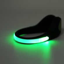 FREE LED Clip Lights for Shoes – Safety LED Lights for Night Running, Jogging, Walking and Cycling (1 pair)