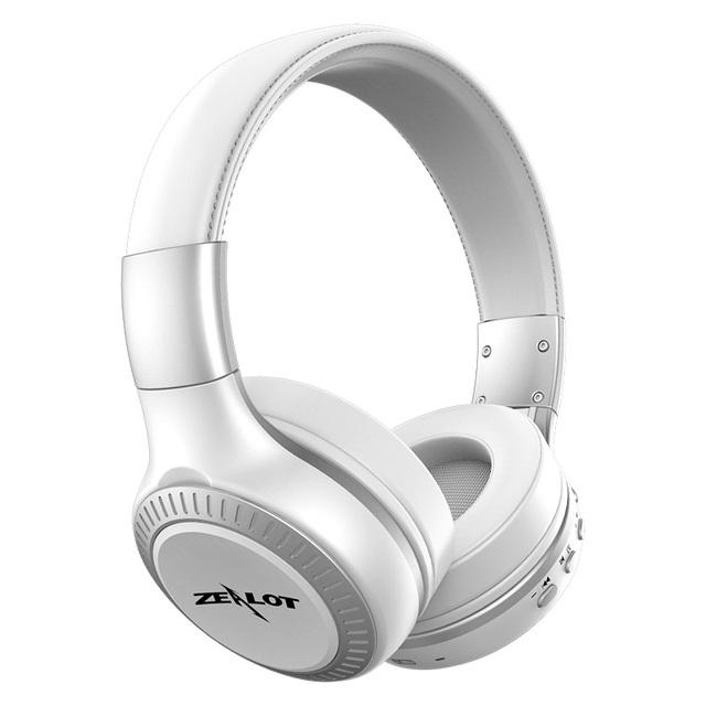 100% Original Zelote B19 Bass Stereo Auricular Inalámbrico Bluetooth para auriculares Diadema Auricular con FM TF indicadores LED para mp3