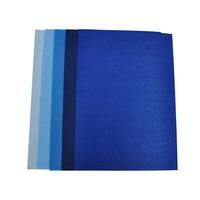 10 листов/lot цитай чувствовал лист для Craft DIY Материал A4 размер листа 100% полиэстер синий цветной лист войлока нетканые толи