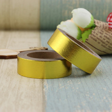 New gold Foil Washi Tape Quality Stationery Diy Tools Kawaii Scrapbook Paper Christmas decoration washi tape