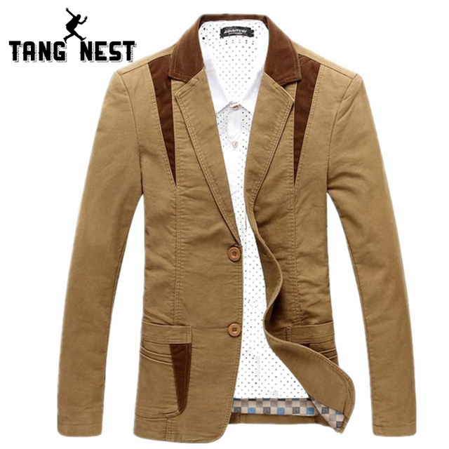 TANGNEST New 2017 Men Casual Suit Slim Thin Suits Male Classic Leisure Single Breasted Blazer Men Plus Asian Size 4XL MWX300