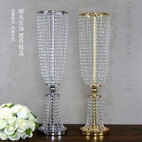 80cm (H) Wedding Crystal Table centerpiece Wedding Decoration 10pcs/lot