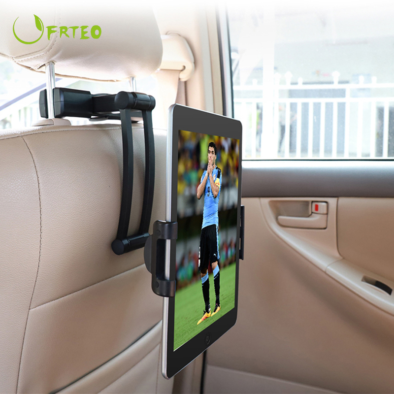 360 Rotation Universal Adjustable Tablet PC Car Headrest Stand Holder For iPad Samsung Mipad 5-11inch Tablet Mount Support Stand