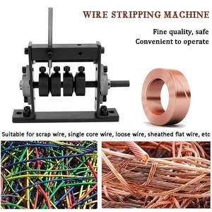 Image 3 - Manuale Portatile di Spogliatura del Legare Macchina Scrap Cavo Peeling Machines Stripper per 1 30 millimetri A Mano Strumento In Grado di Connettersi A Mano trapano