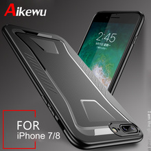 Aikewu For iPhone 7 Case iPhone7 Plus Luxury New Anti-knock Soft TPU Protective Cover Case for iPhone 8 Anti-knock Funda 8 Plus стоимость