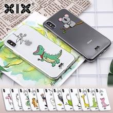 XIX for Funda iPhone 8 Case 5 5S 6 6S 7