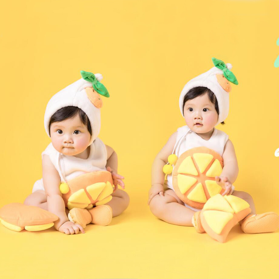 Cute Orange Cosplay for Little Baby Halloween Cosplay ...