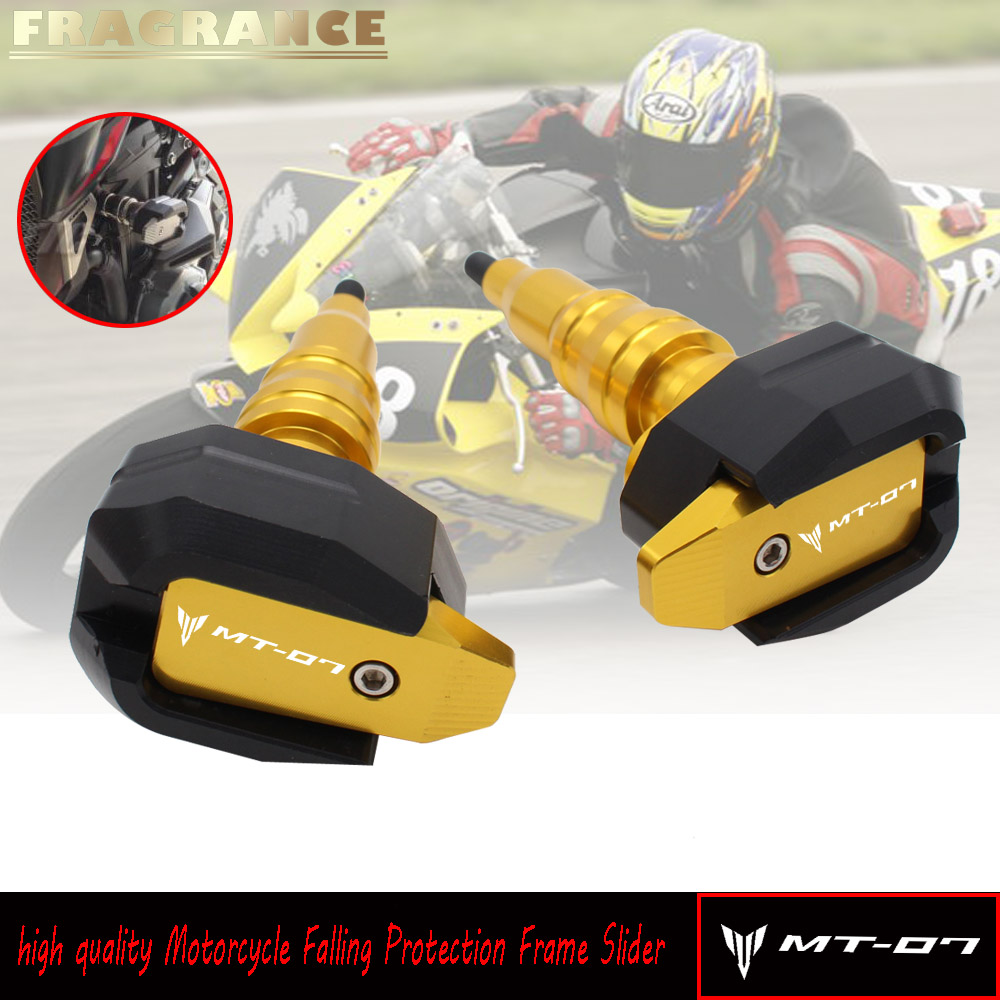 For YAMAHA MT07 MT-07 FZ-07 2014-2018 Motorcycle Accessories CNC Body Frame Sliders Crash Protector Motobike Falling Protection