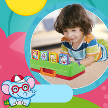 Interactive Pop-Up Animals Toy Toddlers Baby Learning Development Toy Kids Electronic Educational Game Cute Music Puzzle  Toys