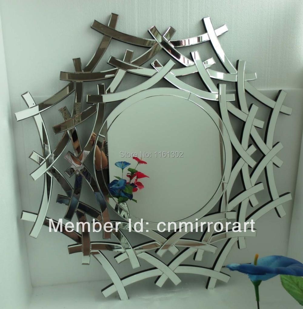 MR 201380 Obturador marco biselado borde redondo espejo de la ...