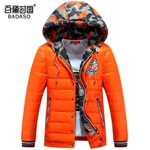 2016 Men's Down jacket With Hood 90% Duck Down Winter Overcoat Plus Size Outwear Jackets Men Winter Coat Free Shipping