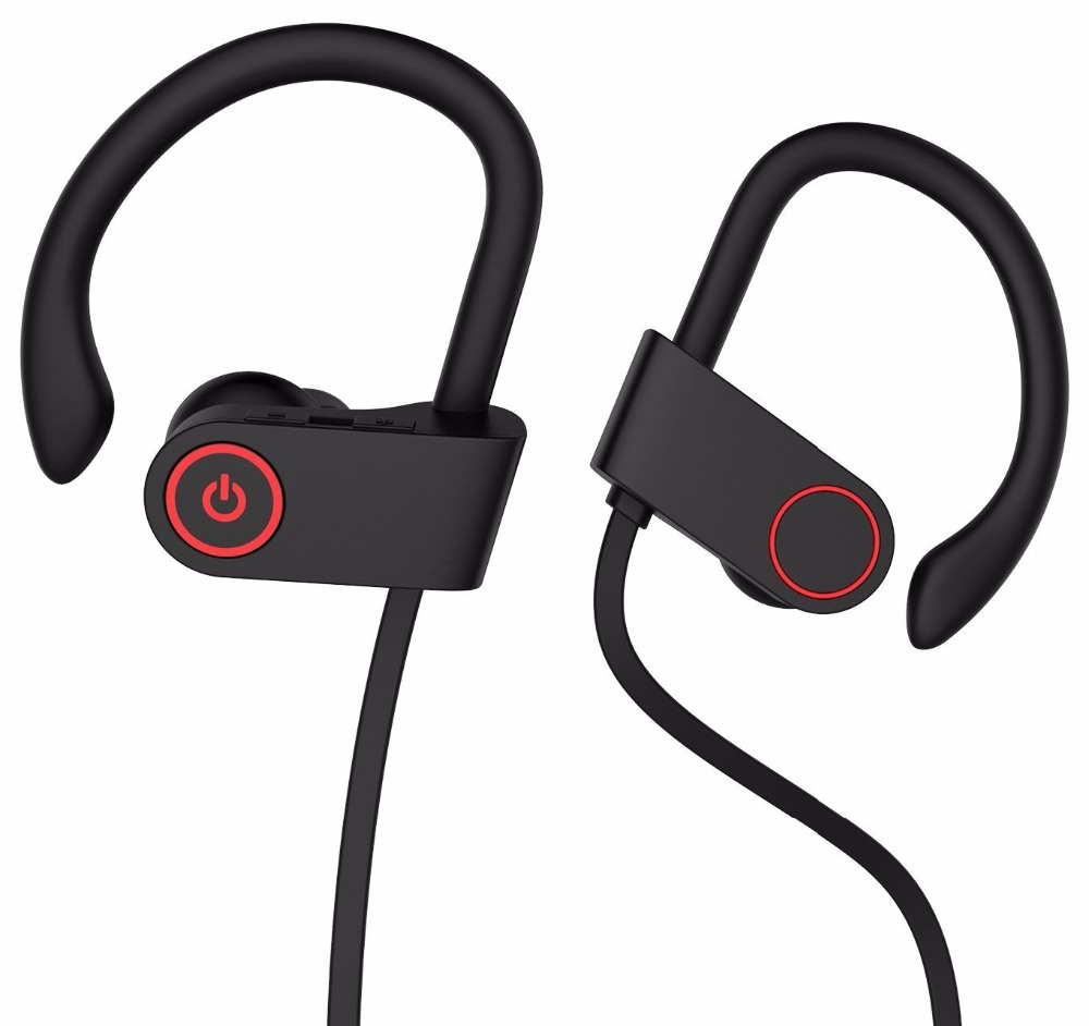 Best Sport Bluetooth Headphone headset Wireless Earphones with Mic Stable Fit In Ear Earbuds 8-Hour Working Time for Running skhifio bluetooth earphone wireless headphone with mic stereo in ear sport headset earbuds music earphones for phone iphone