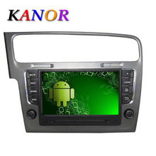1024*600 Autoradio GPS Navigation Android 5.1.1 For 2013 – VW Golf 7 VII Car Radio Stereo With DVD automotivo cassette player