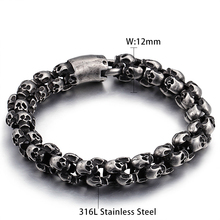 Shiny Skull Bracelet