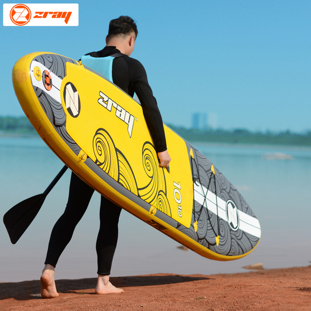 Tabla de surf 330*76*15 cm JILONG ZRAY X2 inflable de la Junta sup stand up paddle Junta surf kayak bodyboard de barco inflable deportivo