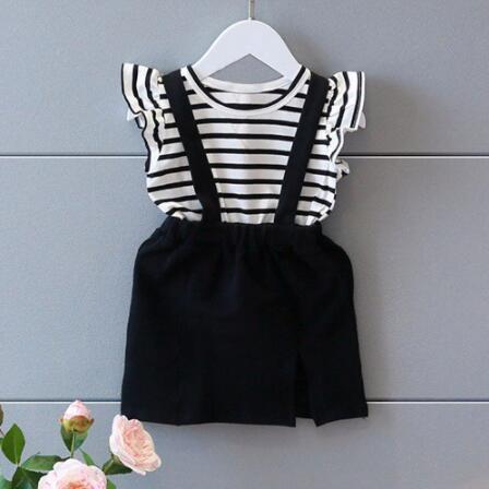 Girls Clothing Sets Toddler Kids Dot Polka 2pcs Set Girl Tops+Shorts Children Suits