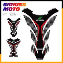 3D Motorcycle Tank Pad Protector Decal Stickers Case for Kawasaki Z250 Z 250 SL ABS