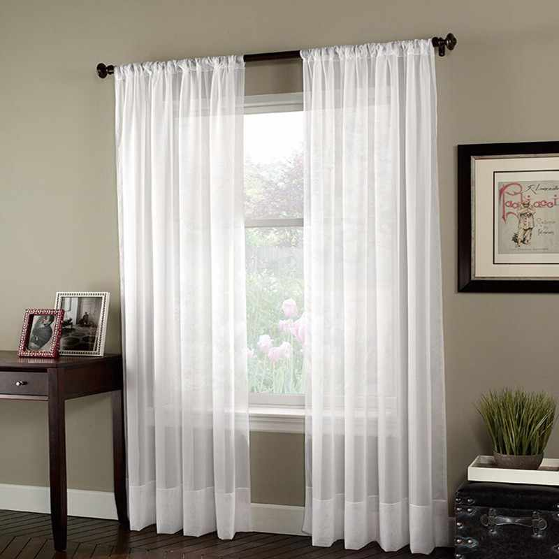 Modern blackout curtains for living room bedroom curtains for window blinds drapes solid finished blackout curtains 1 panel