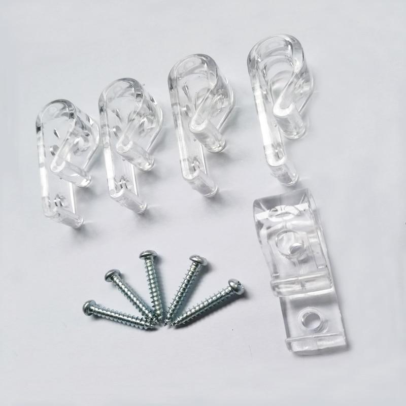 5pc Child Safety Blinds Hook Clip For Zebra Vertical Roman