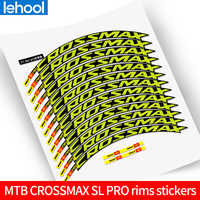 mavic CROSSMAX SL PRO rims stickers bike wheel set decals suit for 26/27.5/29er use for two wheels decals