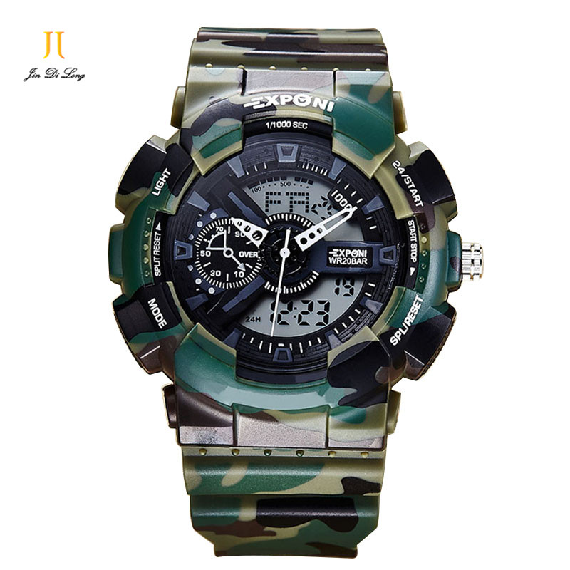 Men Electronic Watches Men's Sports Watches Waterproof Multi-function With Calendar Electronic Men Watches Quality Men Watch